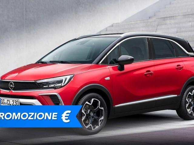 Promozione Opel Crossland benzina, perché conviene e perché no