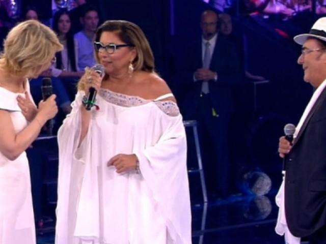 Maria De Filippi ad 'Amici' difende l'azienda contro la strofa 'rap' di Romina
