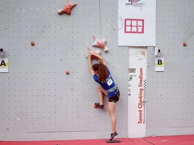 Arrampicata sportiva, ottimo nono posto per Francesca Vasi al campionato mondiale in Russia