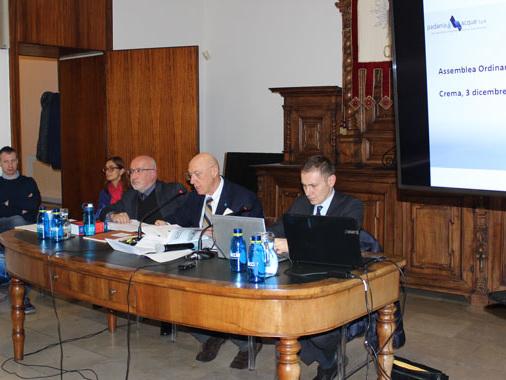 Padania Acque, bilancio di previsione 2020: intanto prosegue lo sviluppo
