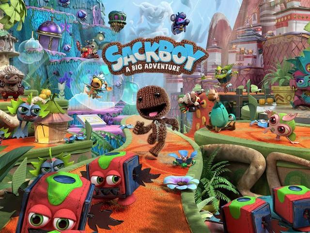 Intraprendi un epico viaggio nel platform 3D Sackboy: A Big Adventure, in arrivo su PS5