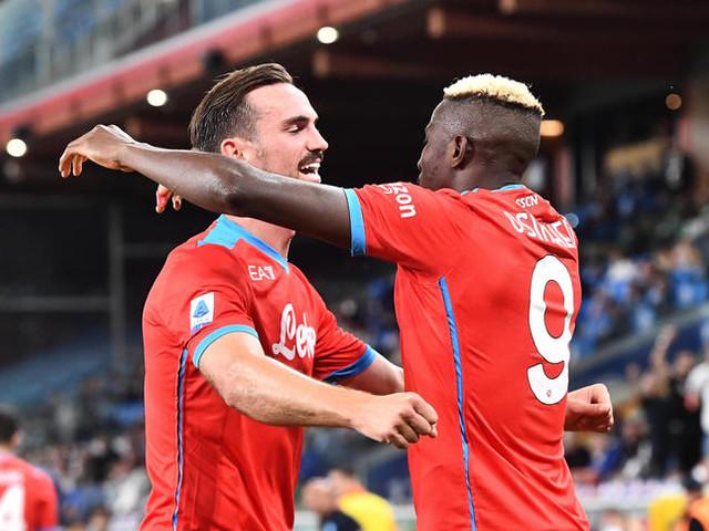 Ciclone Napoli sul campionato, 4 gol anche alla Samp