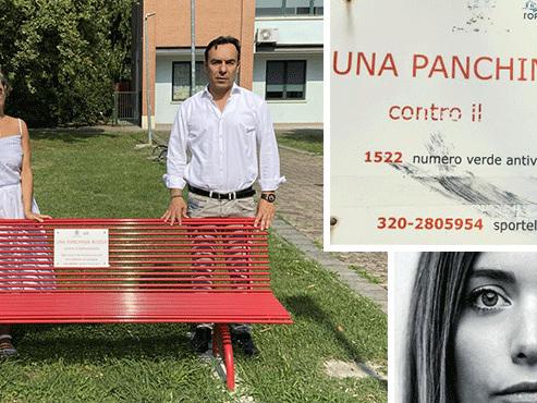 Torrile, vandalizzata la 'panchina rossa'. La denuncia di 'Io Amo Colorno'