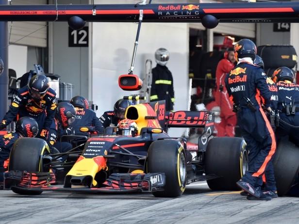 Red Bull, il pit stop è quasi da record a Suzuka