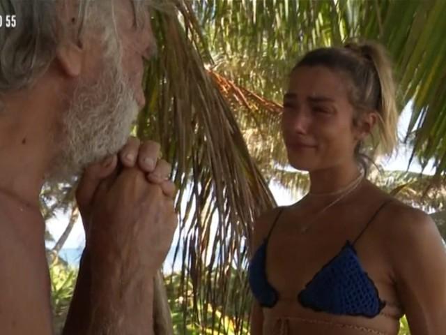 """Isola, Soleil finisce in lacrime: """"Non sono una regina di ghiaccio"""""""