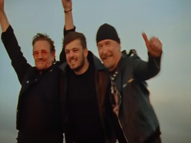 Martin Garrix, video We are the people/ Inno Europei con Bono e The Edge degli U2