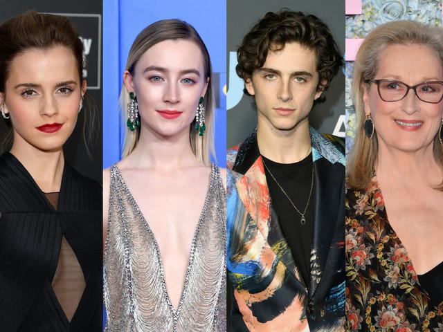 Piccole Donne: le prime foto del film con Emma Watson, Saoirse Ronan, Meryl Streep e Timothée Chalamet
