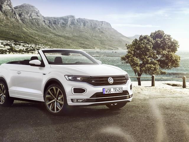 Volkswagen T-Roc Cabriolet: svelata come show car