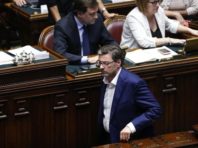 """Giancarlo Giorgetti: """"Draghi premier? Perché no..."""""""