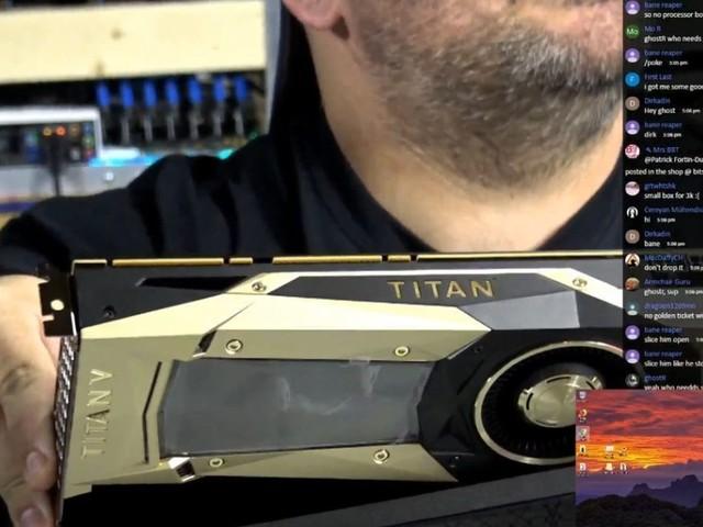 Nvidia Titan V alle prese con il mining di criptomonete