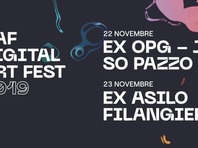 ORadio sarà in diretta al Digital Art Fest 2019, due giorni all'insegna dell'avanguardia elettronica