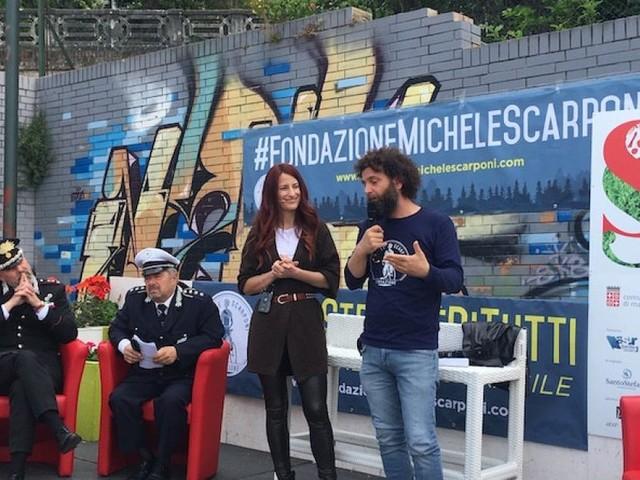 """Macerata """"Sapori di Salute"""", Marco Scarponi agli studenti: """"Mettiamo la vita al centro della strada"""""""