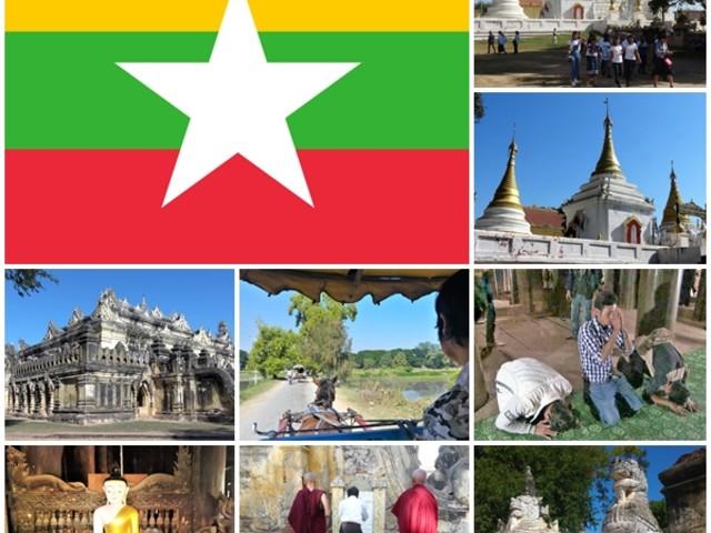 MYANMAR-3a tappa: INWA-4a tappa: MINGUN-2019
