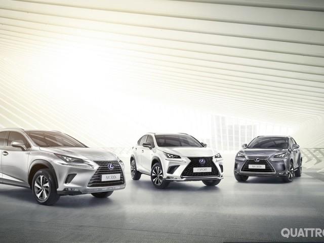 Lexus NX - Infotainment aggiornato e una nuova versione d'accesso per la Suv