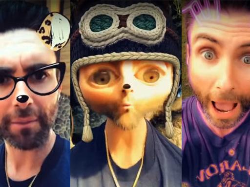 """Maroon 5: guarda Adam Levine provare tutti i filtri del mondo nel video del nuovo singolo """"Wait"""""""