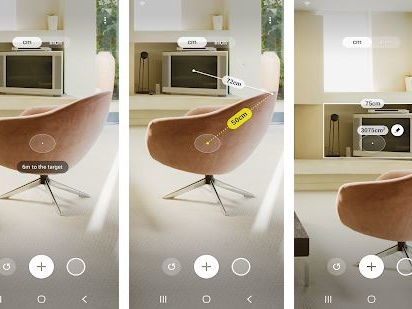 Samsung rilascia l'app Quick Measure per la misura virtuale di distanze in realtà aumentata