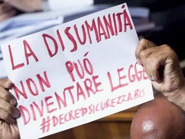 """Dl sicurezza bis, associazioni preoccupate. Unchr: """"Ostacola i soccorsi in mare"""". Don Bianchini e padre Spadaro: """"Resistenza"""""""