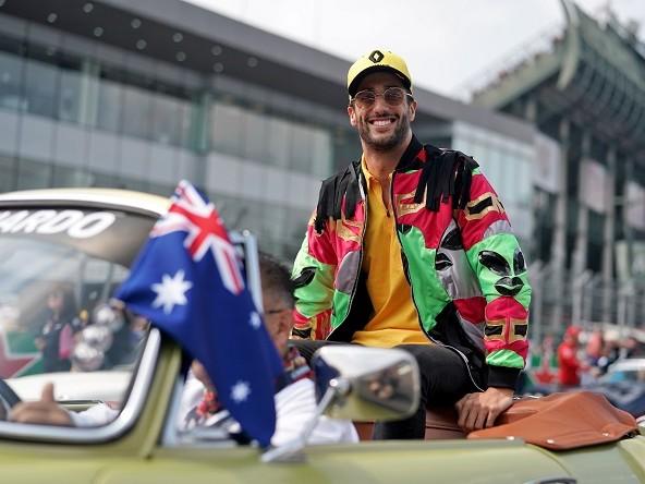 Ricciardo, l'uomo-squadra