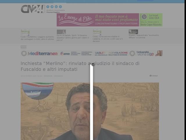 """Inchiesta """"Merlino"""": rinviato a giudizio il sindaco di Fuscaldo e altri imputati"""