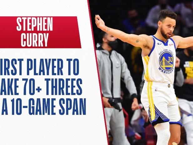 NBA, Steph Curry da record supera Kobe Bryant: 11 partite in fila oltre quota 30 punti