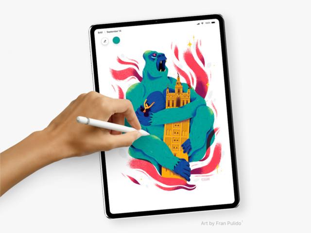 Ecco come potrebbe essere il nuovo iPad Pro, sperando che non slitti al 2019