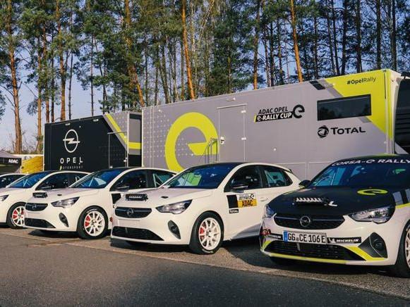 Consegnate le prime dieci Opel Corsa-e Rally