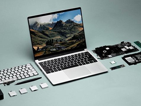 Framework presenta il notebook modulare del futuro