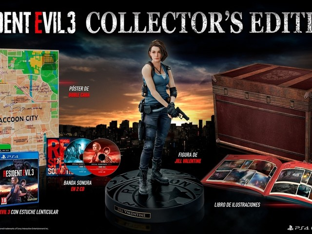 Resident Evil 3, la Collector's Edition è ora disponibile per il pre-order