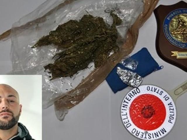 San Giovanni La Punta, nasconde marijuana in casa: 29enne arrestato