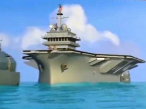 "L'Iran ""affonda"" una portaerei Usa"