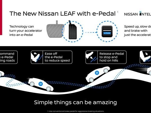 Nuova Nissan Leaf - Debutta il sistema e-Pedal