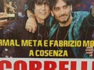 Elezioni, Franco Corbelli fa arrabbiare Ermal Meta Manifesto non autorizzato annuncia concerto a Cosenza
