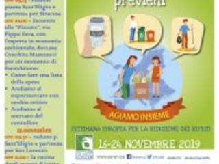 """Settimana Europea per la Riduzione dei Rifiuti 2019: Italia Nostra Melilli propone ricette culinarie per dire """"no"""" allo spreco di cibo"""