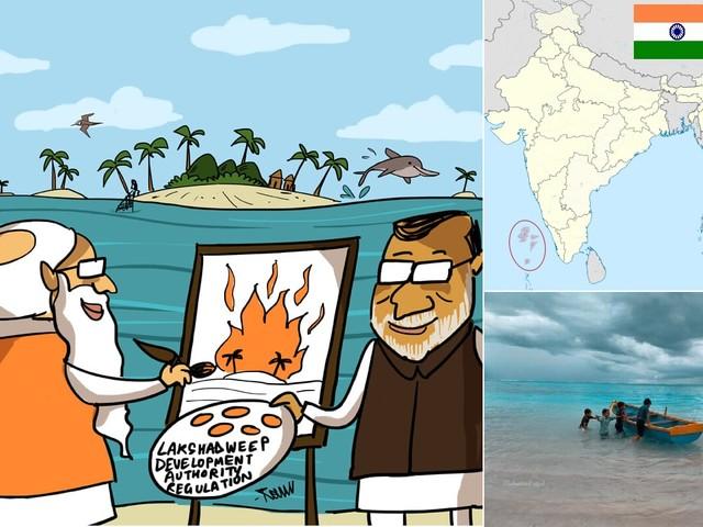Le Laccadive nel mirino della destra induista e cementificatrice indiana