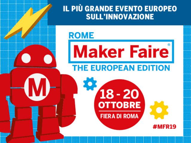 Dal 18 al 20 ottobre torna Maker Faire Rome: un'edizione ricca di novità, carbon neutral e con il 100% dell'energia elettrica consumata che sarà rinnovabile