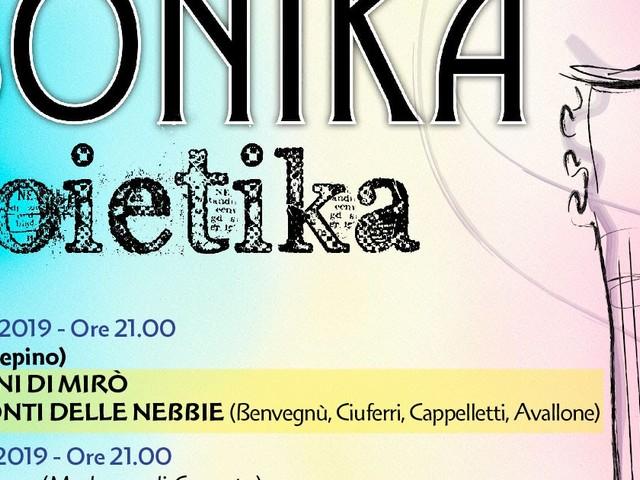Chi va con lo Zoppo... non perde SONIKA POIETIKA: dal 27 luglio!