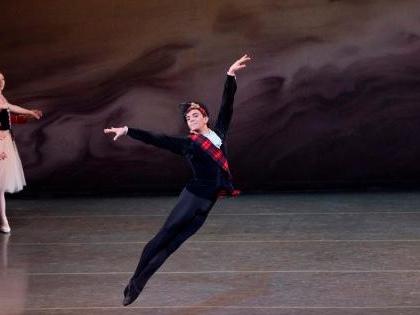 "Un ballerino messinese nel ""New York City Ballet"""