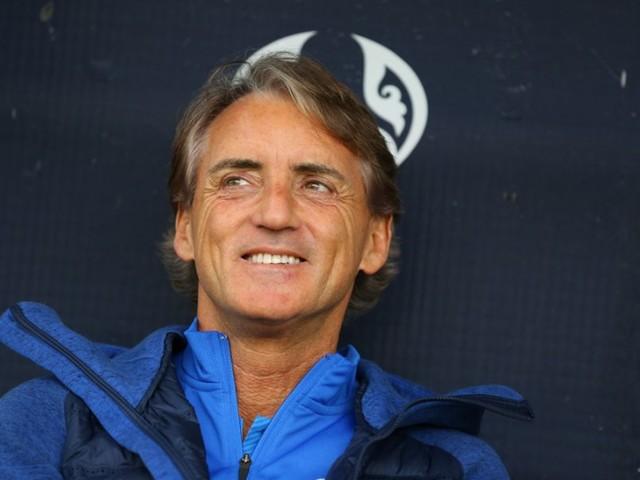 """Calcio, Roberto Mancini: """"Voglio fare 30 punti per essere testa di serie all'Europeo, non dobbiamo prendere la partita sotto gamba"""""""