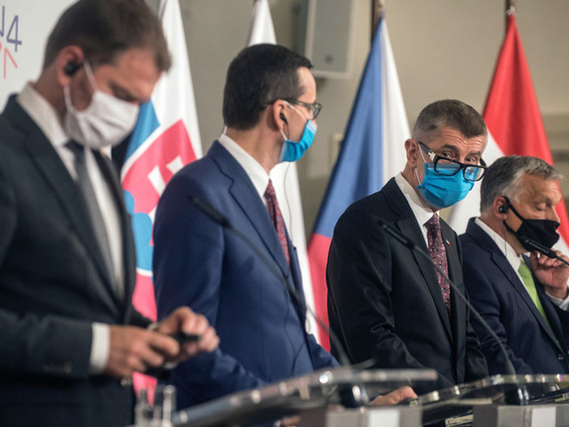 Il Recovery Fund visto dai Paesi del blocco Visegrad