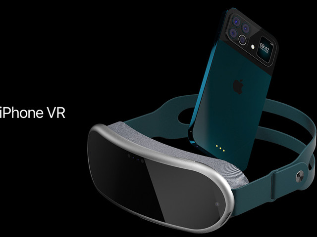 Concept: iPhone VR con relativi sfondi pronti per il download