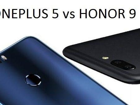 Primo scontro tra OnePlus 5 ed Honor 9: quale conviene acquistare per prezzo e caratteristiche?
