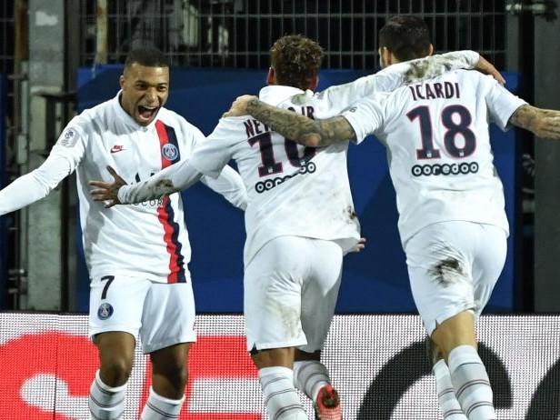 Montpellier-Psg 1-3: Icardi ancora in gol. Navas colpito da una bottiglietta nel finale