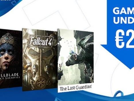 Valanga di giochi a meno di 20 euro sul PlayStation Store, lista completa al 19 gennaio