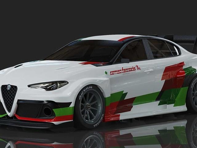 Alfa Romeo Giulia elettrica, il debutto nella serie ETCR
