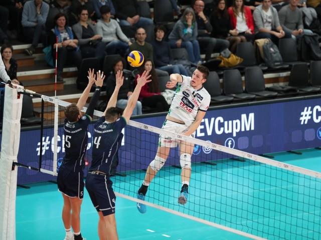 Cev Cup, La Trentino Itas vola ai quarti: 3-1 all'Haching