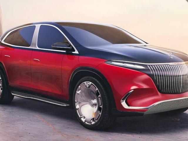 Mercedes-Maybach EQS - A Monaco prende forma la Suv elettrica extra-lusso