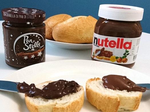 Crema Pan di stelle e Nutella, la sfida