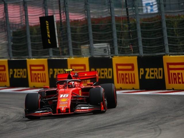 F.1, GP di Russia - Leclerc il più veloce nelle Libere 1
