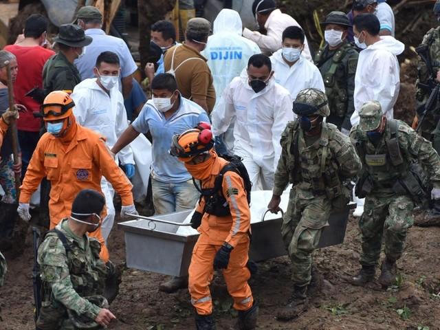 Colombia: maltempo e inondazioni. 28 morti per una frana