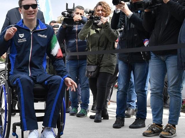 """La fiducia di Manuel Bortuzzo: """"Il mio obiettivo sono le Olimpiadi"""""""